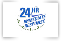 24hr Immediate Response