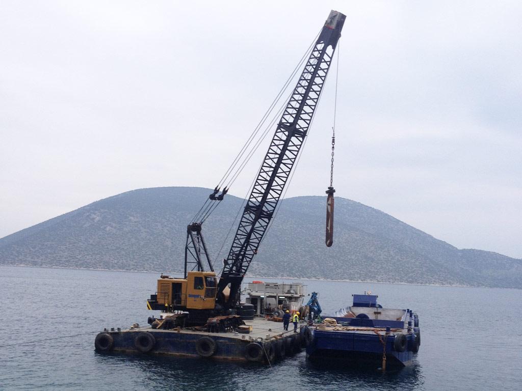 Crane Barge Ignatios Vii