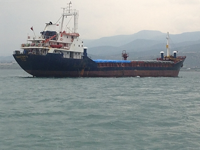 M/V TINAZTEPE S salvage operation