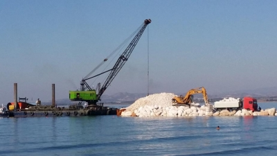 CONSTRUCTION OF SIX (6) DETACHED BREAKWATERS PERVOLIA - CYPRUS