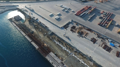 CONSTRUCTION OF QUAY EXTENSION AT LIMASSOL PORT - CYPRUS
