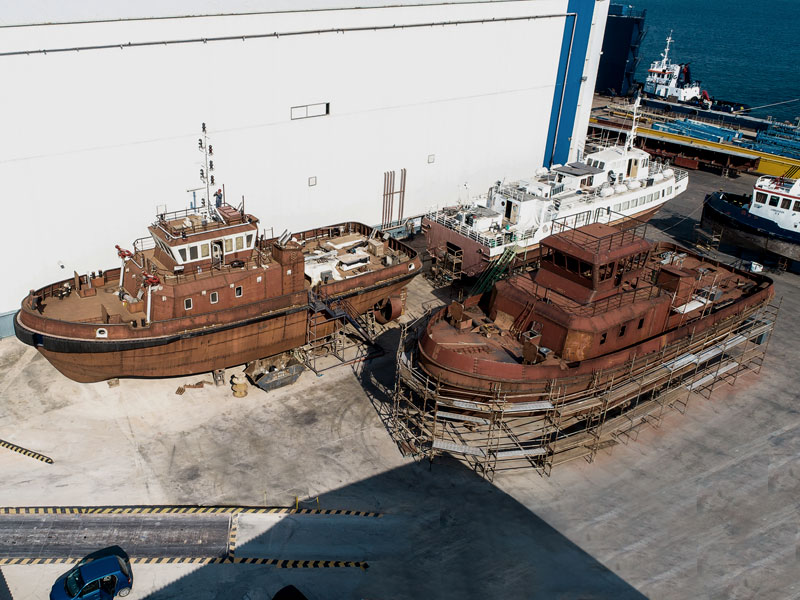 commercial shipyard projects