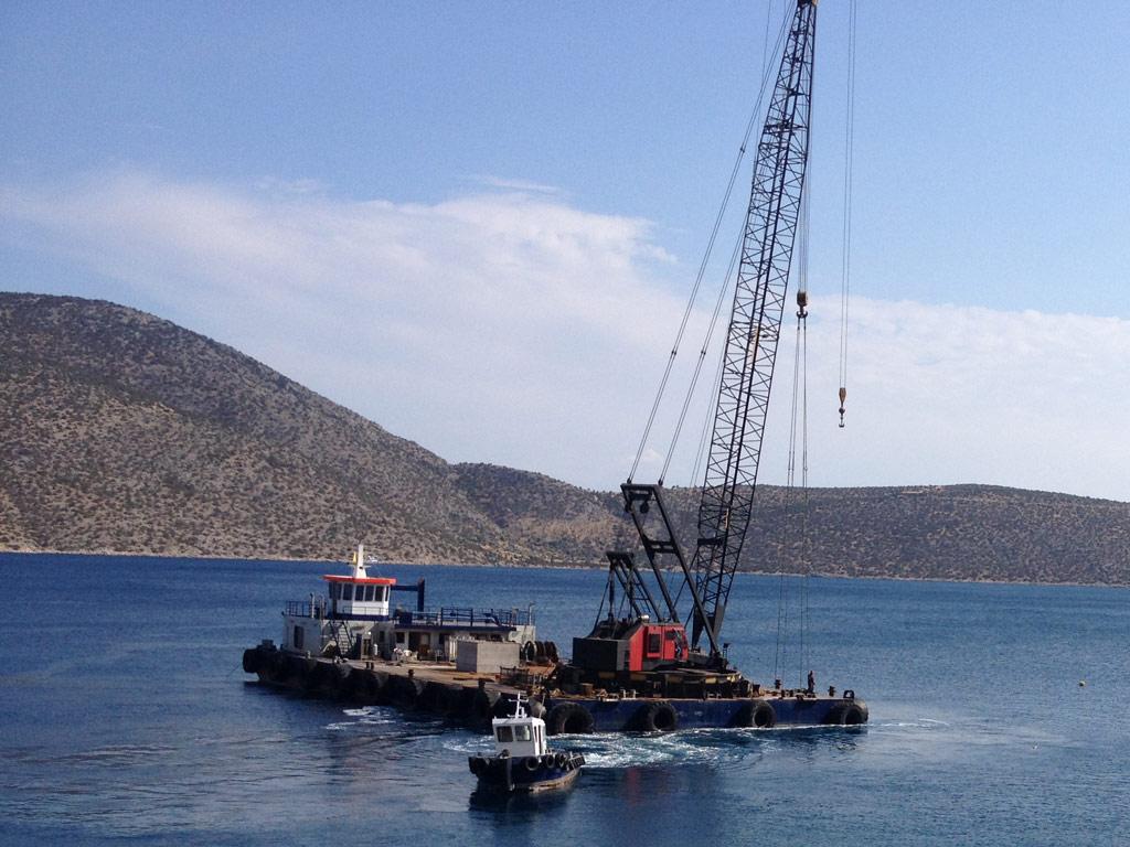 Crane Barge Ignatios X