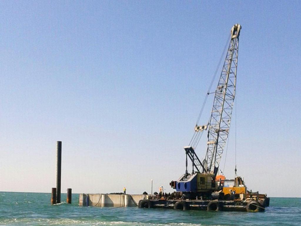 crane barge ignatios xvi