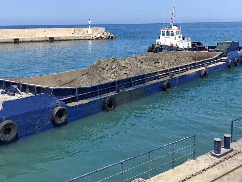 Split Hopper Barge Marianna Viii
