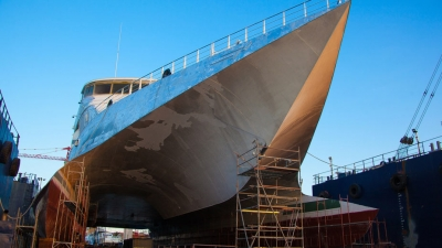 "DRYDOCKING OF PASSENGER CAR FERRY ""NAXOS JET"""