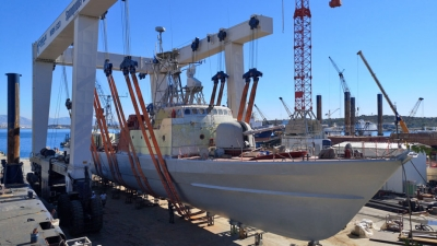 "DRYDOCKING OF HELLENIC NAVY FAST ATTACK CRAFT ""LASKOS"""
