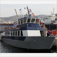 "Naming Ceremony and Delivery of Crew Boat BB1 ""Ammonias"" to the Hellenic Navy"