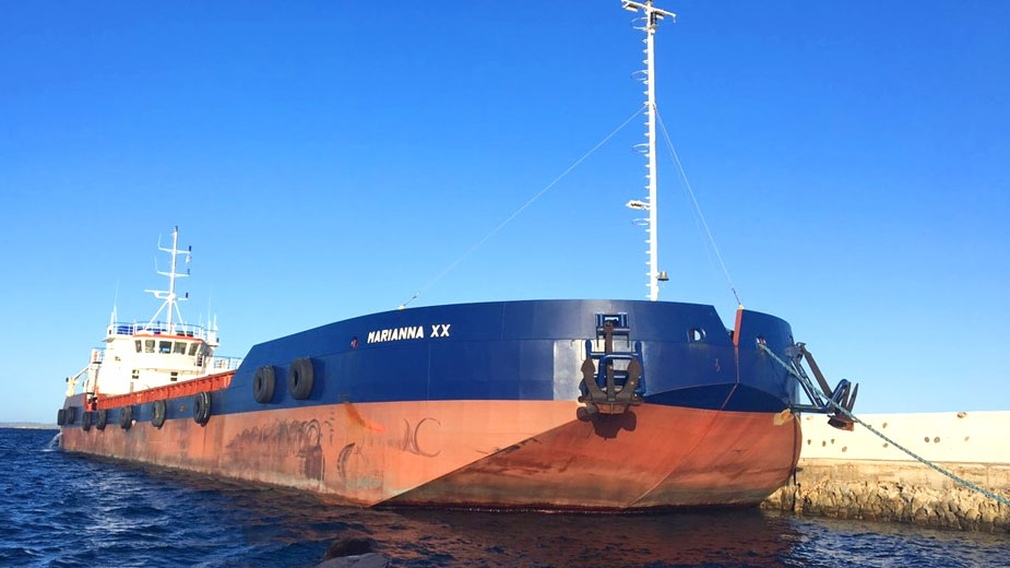 "Φ/Γ - ΚΛΑΠΕ CARGO SHIP - SPLIT HOPPER  ""MARIANNA XX"""