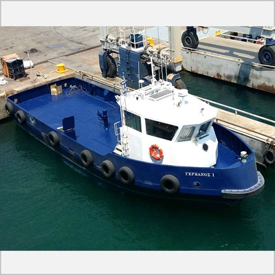 "Delivery of a new Launch Boat ""GERMANOS I"""