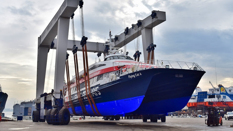 "ANNUAL DRYDOCKING OF PASSENGER CATAMARAN SHIPS ""FLYING CAT"""