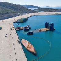 Wreck Removal of M/V GERASIMOS at the Platygiali Astakos port, Greece