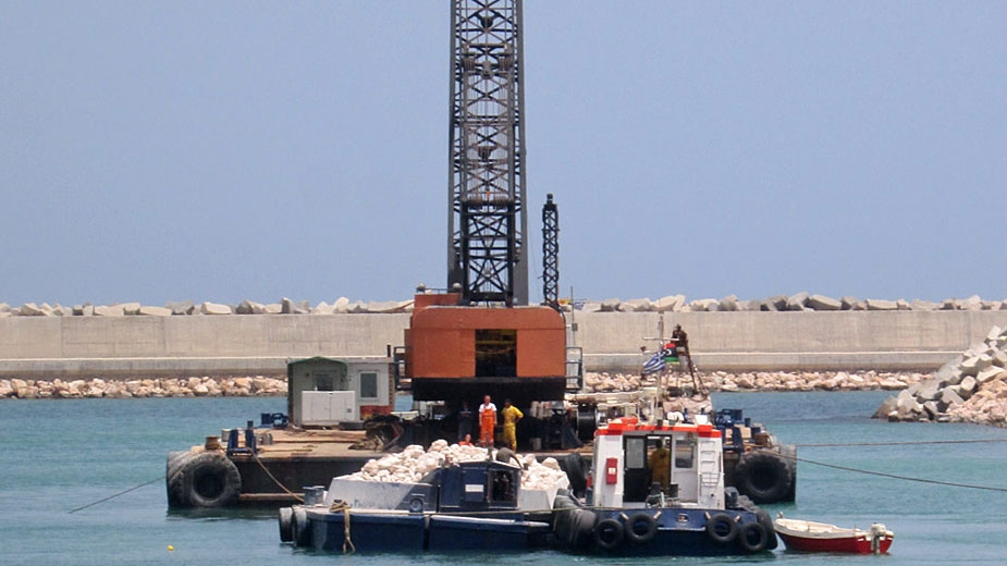 COMPLETION OF SIRTE COMMERCIAL PORT - LIBYA