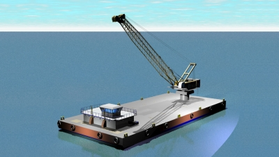 "CONSTRUCTION OF CRANE BARGE ""IGNATIOS XX"""
