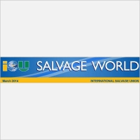 Spanopoulos Activities into Q1_2014 Salvage World newsletter (pages 4 &10), issued by ISU