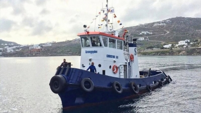 Tugboat CHRISTOS XIX