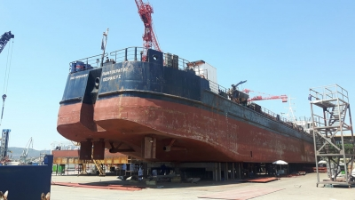 "DRYDOCKING OF CARGO SHIP ""PANTOKRATOR"""