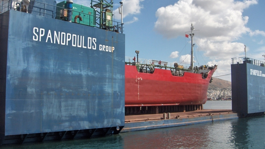 "CONVERSION AND ELONGATION OF ""IGNATIOS"" from SUBMERSIBLE BARGE to FLOATING DOCK"