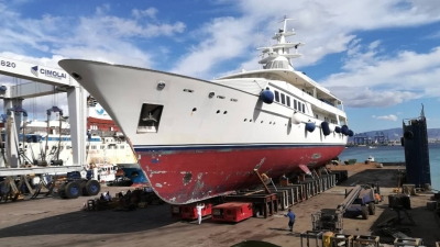 "DRYDOCKING OF M/Y ""ASTARTE II"""