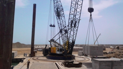 CONSTRUCTION OF A BULK HANDLING BERTH No.10 - YANBU PORT - SAUDI ARABIA