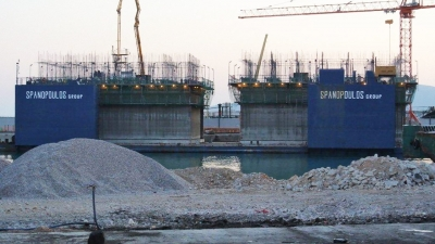 CONSTRUCTION OF PIER III / PORT OF PIRAEUS - GREECE