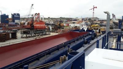 Barges for Sale Split Hopper Barge Charter Greece