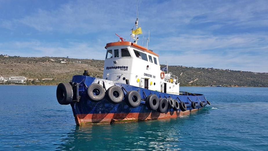 Tugboat CHRISTOS XVI