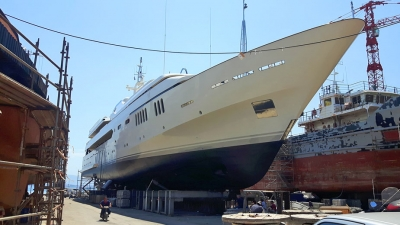 "DRYDOCKING OF M/Y ""ALWAELI"""