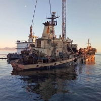 "Successful and safe completion of the lifting of the ""Agia Zoni II"""