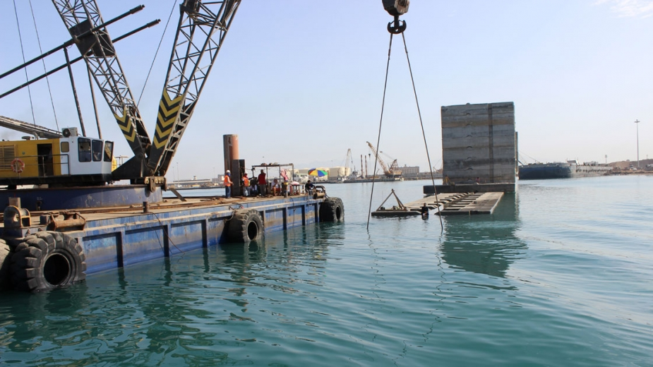 CONSTRUCTION OF A BULK HANDLING BERTH No.11 - YANBU PORT - SAUDI ARABIA